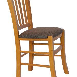 Scaun din lemn MADEIRA tapitat